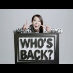 「WHO'S BACK?」